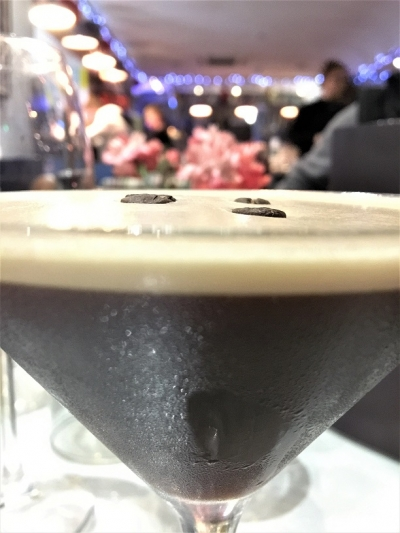 A magnificent Espresso Martini at The LP.